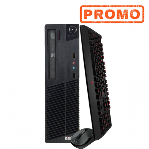 Unitate PC Lenovo Thinkcentre M91p, Intel Core i5-2400s 2.5Ghz, 4Gb DDR3, 250Gb HDD, DVD-RW, SFF