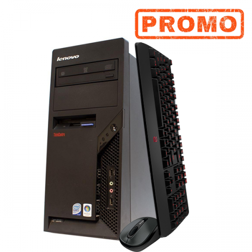 PC Lenovo Thinkcentrer M58e, Intel Core 2 Duo 8500, 3,16 GHz, 4GB DDR3, 160GB SATA, DVD-RW, Tower