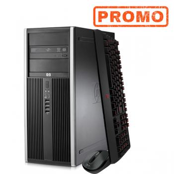 Calculator HP 6200 Pro MiniTower, Intel i3-2100 3.10GHz, 4GB DDR3, 250GB HDD, DVD-RW