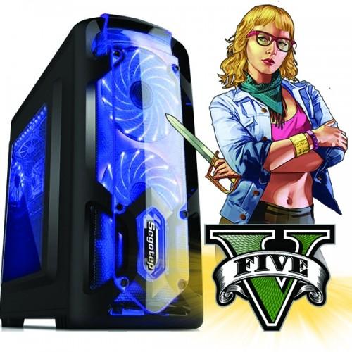 Calculator Gaming Fortnite Tower Intel Core i5-3570M 3,80GHz , Video 2 GB DDR3 GeForce GT6xx 128 BIT, 8Gb DDR3, 120 GB SSD + 500G SATA - Fortnite, GTA 5, CS-GO