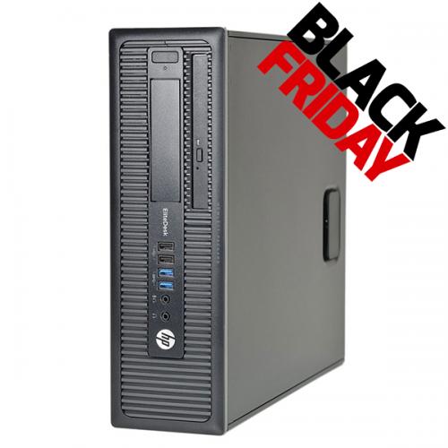 Calculator HP Compaq EliteDesk 800 G1 USDT, Intel i5-4590 3.30GHz , 8GB DDR3, 240 SSD, DVD-ROM