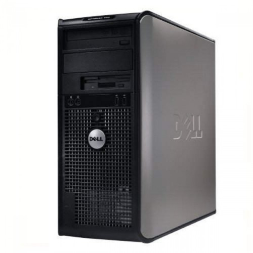 Calculator Dell OptiPlex 755 Tower, Intel Core 2 Duo E6550 2.33GHz, 4GB DDR2, 80GB SATA, DVD-RW, Second Hand