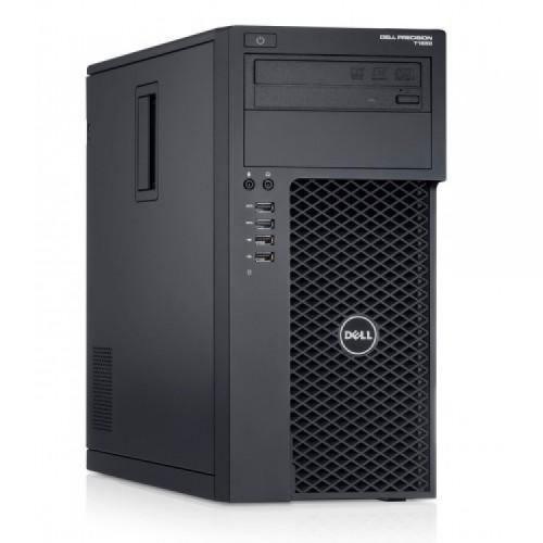 Workstation Dell Precision T1700, Intel Xeon Quad Core E3-1271 V3 3.60GHz - 4.00GHz, 16GB DDR3, 240GB SSD + 2TB SATA, nVidia Quadro K2200/4GB, DVD-RW, Second Hand