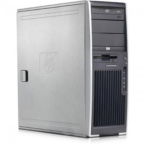 Workstation HP XW4300, Intel Pentium D 940 3.20 GHz, 160GB SATA, 2GB DDR2, Placa video Quadro FX 3450/256MB, DVD-ROM, Second Hand