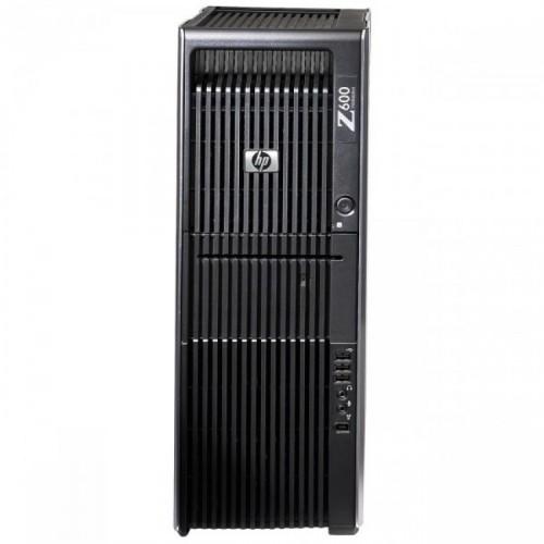 Workstation HP Z600, 2 x CPU Intel Xeon Quad-Core E5540 2.13GHz, 24GB DDR3, SSD 240GB + 2TB HDD, nVidia FX 3800/1GB GDDR3 256biti, Second Hand