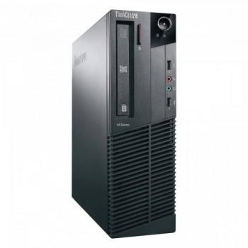 Calculator LENOVO ThinkCentre M81 Desktop, Intel Pentium Dual Core G620, 2.60GHz, 2GB DDR3, 250GB SATA, DVD-ROM, Second Hand