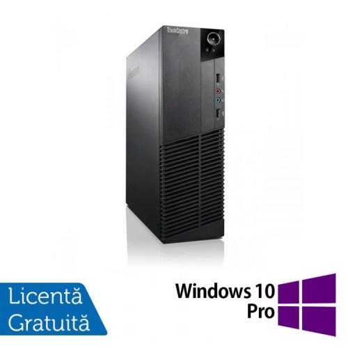 Calculator Lenovo Thinkcentre M83 SFF, Intel Core i5-4570 3.20 GHz, 8GB DDR3, 500GB SATA, DVD-RW + Windows 10 Pro, Refurbished