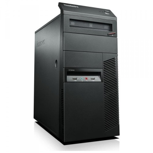 Calculator Lenovo Thinkcentre M91p Tower, Intel Core i7-2600 3.4GHz, 4GB DDR3, 120GB SSD, DVD-RW, Second Hand
