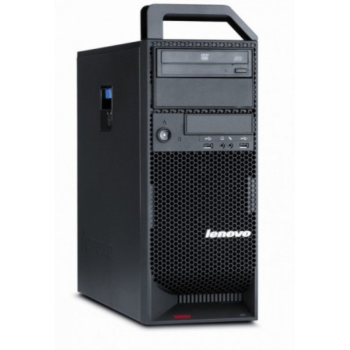 Workstation Lenovo ThinkStation S20 Tower, Intel Xeon Quad Core W3565 3.20GHz-3.46GHz, 4GB DDR3, 500GB HDD, nVidia NVS 315/1GB, DVD-RW, Second Hand