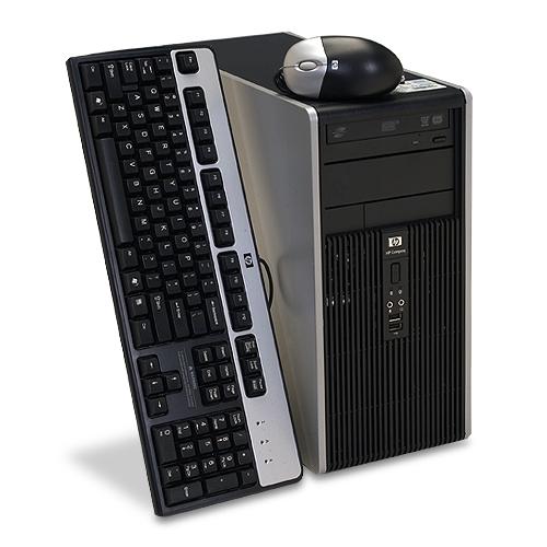 Calculator HP Compaq DC5700, Intel Core 2 Duo E6300, 1.87 GHz, 2GB DDR2, 80GB HDD, DVD-ROM ***