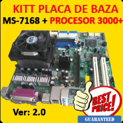 Placa de Baza MS-7168 soket 939 + Procesor Sempron 3000+