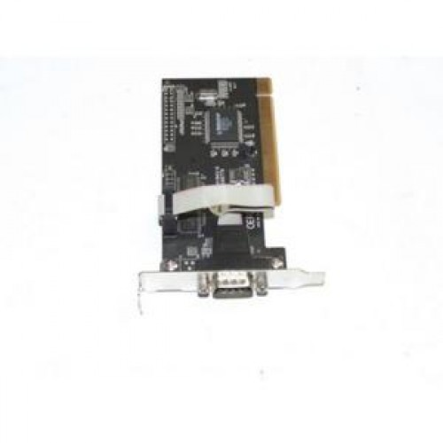 Port serial 9 pini, low profile, conexiune PCI