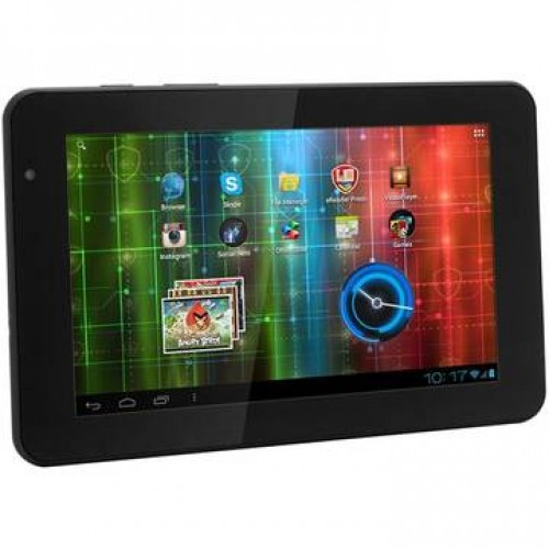 Tableta SH Prestigio MultiPad PMP5570C Dual Core Android 7.0inch 8GB Web Card micro SD USB 2.0 Mini HDMI WiFi + Husa piele