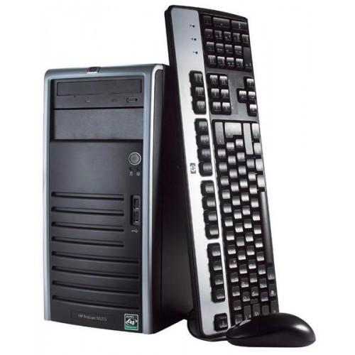 Calculator Second Hand Hp Proliant ML115 AMD Opteron Quad 1354 Gen 3,  2.2Ghz, 4GB DDR2 ECC, 250GB HDD SATA, DVD-RW