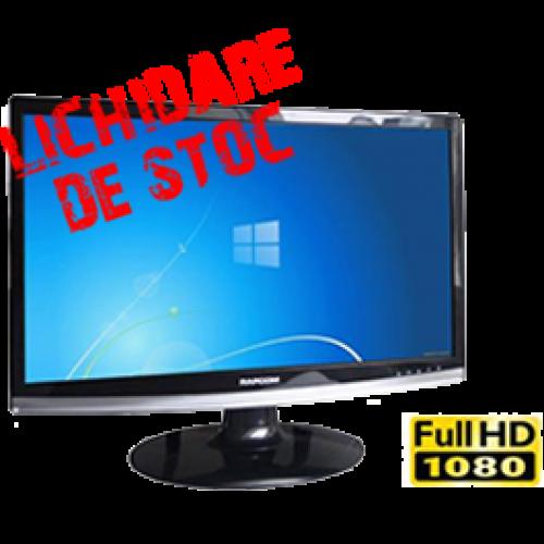 Monitor SH Rapcom 2219b, LCD 22 inch, Widescreen, Full HD, Boxe integrate