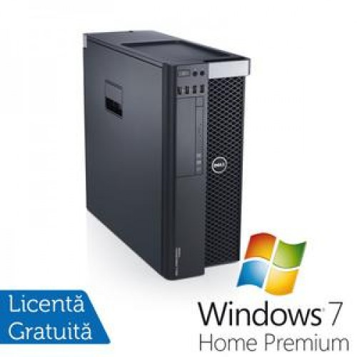 Dell T5600, Xeon Quad Core E5-2643 3.3Ghz, 16Gb DDR3, 300Gb , DVD-RW, nVidia Quadro 4000 2Gb + Windows 7 Home Professional
