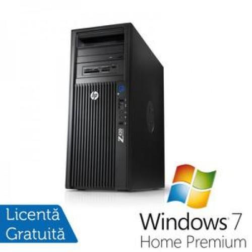 HP Z420, Intel Xeon E5-1620 3.6Ghz, 64Gb DDR3 ECC, 2x 2Tb SATA, DVD-RW, Nvidia Quadro K2000 1GB DDR5 + Windows 7 Home Premium