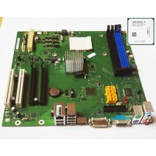 Placa de baza Fujitsu Siemens D2981-A12 GS1 + CPU AMD Athlon II X2 255 3.10Ghz Socket AM2 + Radiator pentru calculator Fujitsu P5645, non-ATX standard