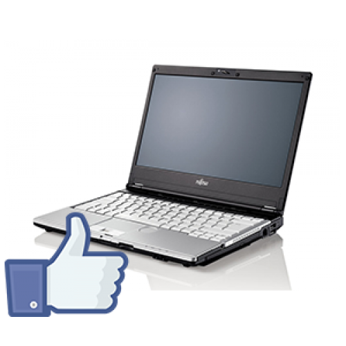 Laptop Fujitsu Siemens Lifebook S760 Intel Core I5-520M 2,4Ghz, 4Gb DDR3 , 320Gb SATA DVD-RW, Camera Web FB***