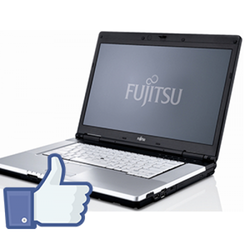 Fujitsu Siemens Lifebook E780, Intel Core i5-520M, 2.4Ghz, 4Gb DDR3, 160Gb, DVD-RW, Camera WEB, 15,6 inch  FB***