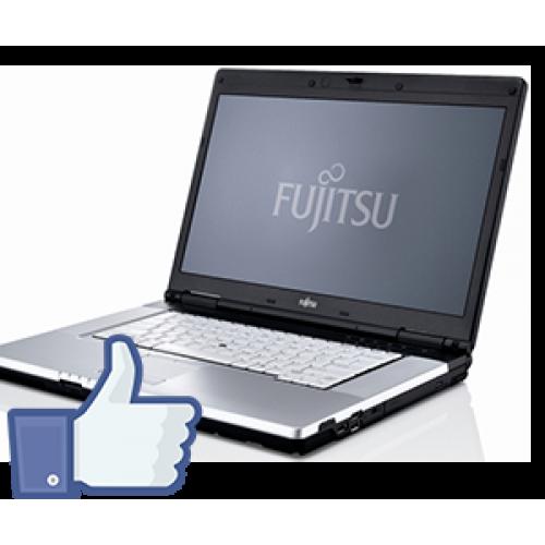 Fujitsu Siemens Lifebook E780, Intel Core i5-520M, 2.4Ghz, 4Gb DDR3, 160Gb, DVD-RW, Camera WEB, 15,6 inch  FB***