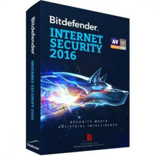Licenta retail Bitdefender Internet Security 2016, 1 AN, 1 PC