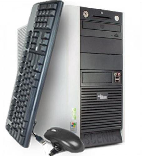 PC Fujitsu Siemens SCENIC W600, Tower, Intel Pentium 4 2.8GHz, 1GB DDR, 80GB HDD, CD-RW ***