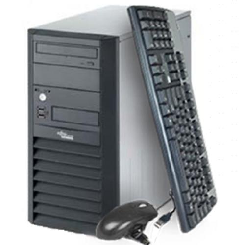 Fujitsu Siemens Esprimo P2510, Intel Dual Core PD 2.8Ghz, 1Gb DDR2, 80Gb, DVD-ROM