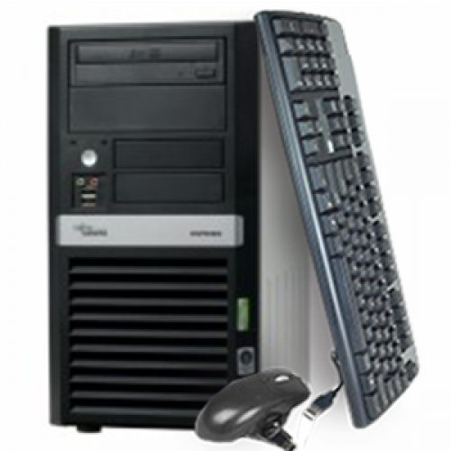 Fujitsu Siemens Esprimo P2510 Second Hand, Intel Dual Core PD 2.8Ghz, 1Gb DDR2, 160Gb, DVD-RW ***