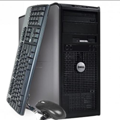 PC SH Dell Optiplex 360, Intel Dual Core E2200, 2.2 Ghz, 2Gb, DDR2, 160GB, DVD-RW