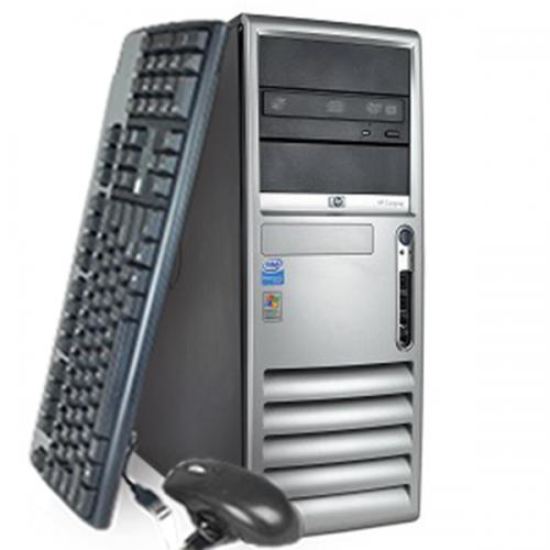 Computer HP Compaq DC7700, Tower, Core 2 Duo E6300 1.86Ghz, 2GB DDR2, 250GB HDD, DVD-RW ***