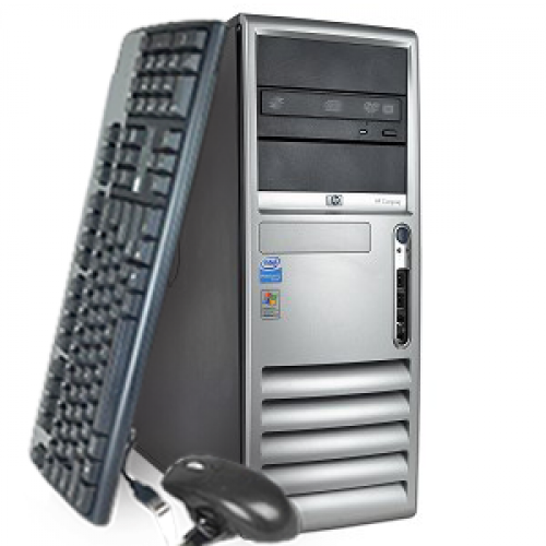 Computer HP Compaq DC7700, Tower, Core 2 Duo E6300 1.86Ghz, 2GB DDR2, 160GB HDD, DVD-RW ***