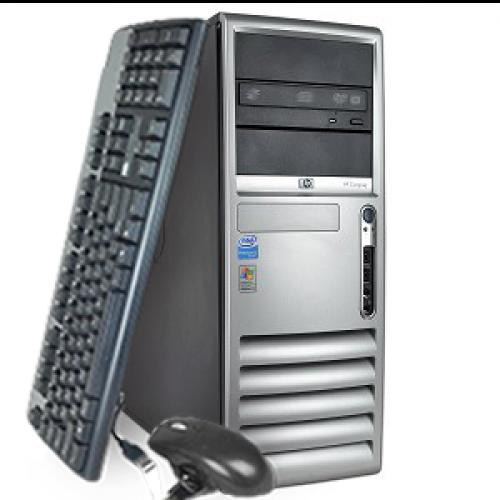 Computer HP Compaq DC7700, Tower, Core 2 Duo E7400 2.80Ghz, 2GB DDR2, 160GB HDD, DVD-RW