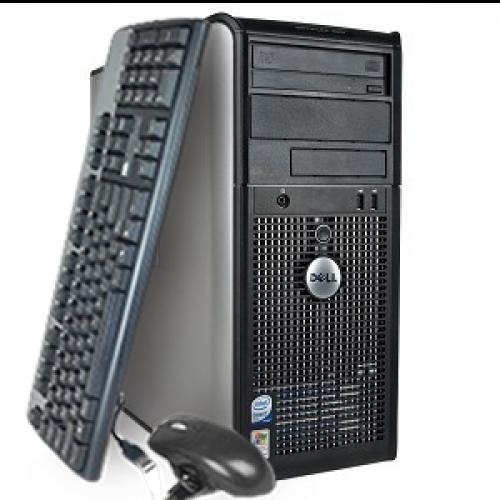 Calculator Dell Optiplex 320 TOWER, Intel Core 2 Duo E6300, 1.86Ghz, 2Gb DDR2, 80Gb SATA, DVD-ROM ***