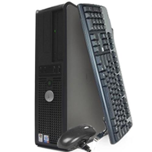 Unitate SH Desktop OptiPlex GX520, Celeron, Memorie1GB DDR2, 40GB HDD, DVD-ROM***