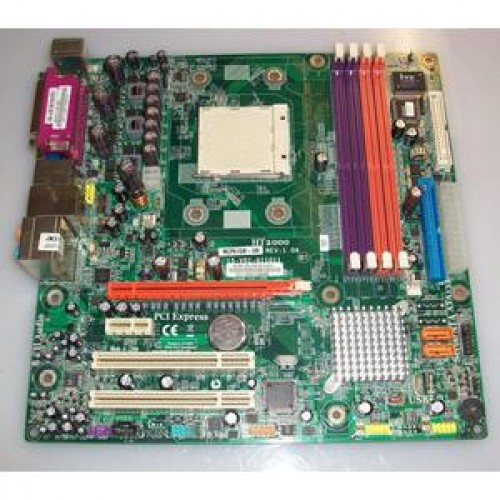Placa de baza ECS MCP61SM-AM, Socket AM2, Procesor AMD ATHLON 64 3500+ 2.2Ghz, DDR2, SATA2 PCI-Express
