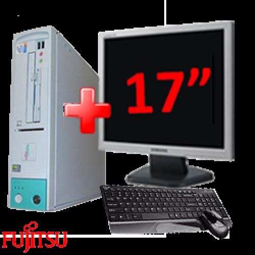 Super Oferta Pachet Computer Fujitsu Scenic D, Procesor Pentium 4, 2.4 Ghz,RAM 512Mb, HDD 40Gb, CD-ROM + Monitor de 17 Inch LCD ***
