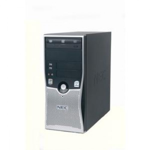 Calculator SH NEC Powermate VL280 Tower, Intel Dual Core X2 4800+, 2.50GHz, 2GB DDR2, 80GB SATA, DVD