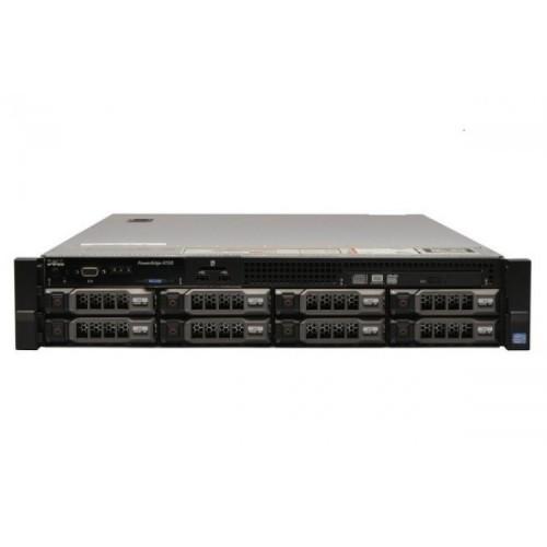 Server Dell PowerEdge R720, 2x Intel Xeon Octa Core E5-2670, 2.60GHz - 3.30GHz, 384GB DDR3 ECC, 2 x SSD 480GB SATA + 6 x 4TB HDD SATA, Raid Perc H710 mini, Idrac 7 Enterprise, 2 surse HS, Second Hand
