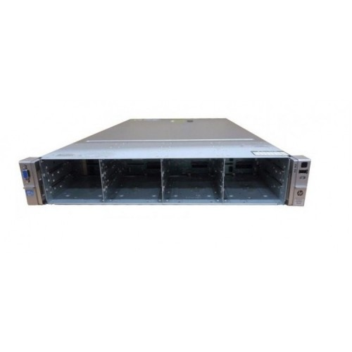 Server HP ProLiant DL380e G8, 2U, 2x Intel Octa Core Xeon E5-2450L 1.8 GHz-2.3GHz, 64GB DDR3 ECC Reg, 14 x 3,5 inch bays, no HDD, Raid Controller HP SmartArray P420/1GB, iLO 4 Advanced, 2x Surse Hot Swap 750W, Second Hand