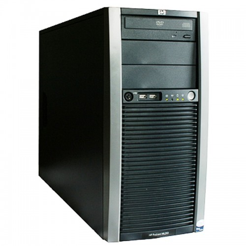 Workstation HP ProLiant ML310 Tower, Intel Xeon 3330 2.66Ghz, 4Gb DDR2 ECC, 300Gb SAS, DVD-ROM
