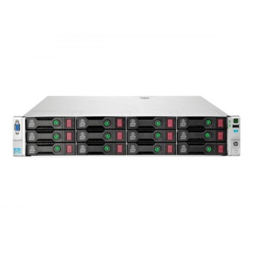 Server Refurbished HP ProLiant DL380e G8, 2U, 2x Intel Octa Core Xeon E5-2450L 1.8 GHz-2.3GHz, 16GB DDR3 ECC Reg, 12 x 450GB SAS/10K/2,5 on 3,5 adapter, Raid Controller HP SmartArray P420/1GB, iLO 4 Advanced, 2x Surse Hot Swap 750W