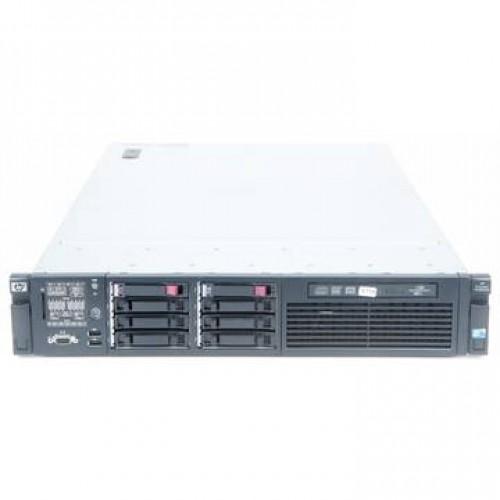 Server SH HP ProLiant DL380 G6 2 x Xeon Quad Core X5570 2.93Ghz 24Gb DDR3 2 x 146Gb SAS Raid 2XPSU Soft Preinstalat Windows Server 2012 Foundation ROK 15 clienti