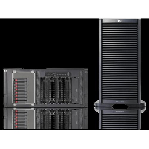 HP Server ProLiant ML350 G6, 2x Intel Xeon Quad Core E5506 2.13, 8Gb DDR3 ECC, 2x 160Gb SATA + 2x 300Gb SAS, 2x 460w,
