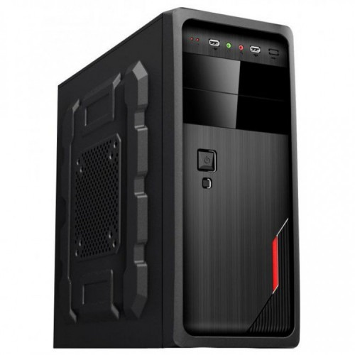 Sistem PC Gaming, Intel Core i5-2400, 3.10GHz, 4GB DDR3,120GB SSD, GeForce GT 710 2GB, DVD-RW