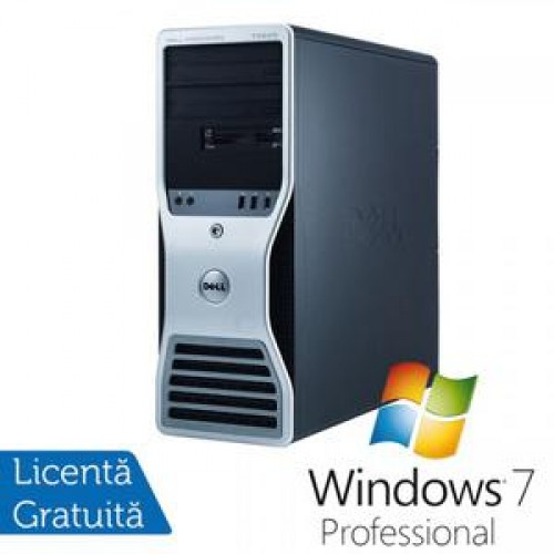 Workstation Dell Precision T7500 2xIntelXeon X5660 HexaCore 2.8GHz, 8Gb DDR3, 320GbHDD, video nVidiaQuadro+Win7 Pro