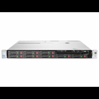 Server HP ProLiant DL360e G8, 1U, 2x Intel Octa Core Xeon E5-2450L 1.8 GHz-2.3GHz, 24GB DDR3 ECC Reg, 2x 146GB SAS/10k, Raid Controller HP SmartArray P822/2GB, iLO 4 Advanced, 2x Surse 750W HOT SWAP, Refurbished