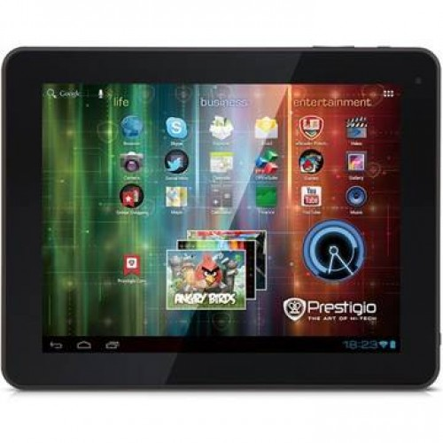 Tableta Prestigio MultiPad 5597D Ultra Duo 16GB Android 4.1 mini HDMI 9.7 inch + Husa de piele