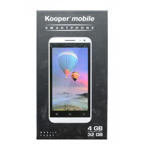 Telefon Smartphone Kooper S4502, Ecran 4.7 inch IPS, Dual SIM, Android, 3G, Wi-fi, TouchScreen, GPS, 3G