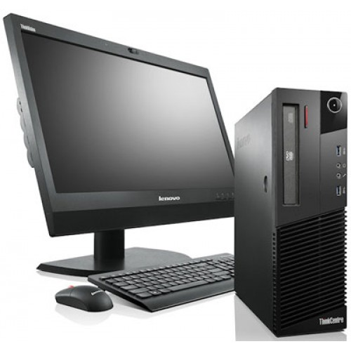 Pachet PC+LCD Lenovo ThinkCentre M75e Desktop, Athlon II X2 220 2.80Ghz, 2Gb DDR3, 320Gb SATA, DVD